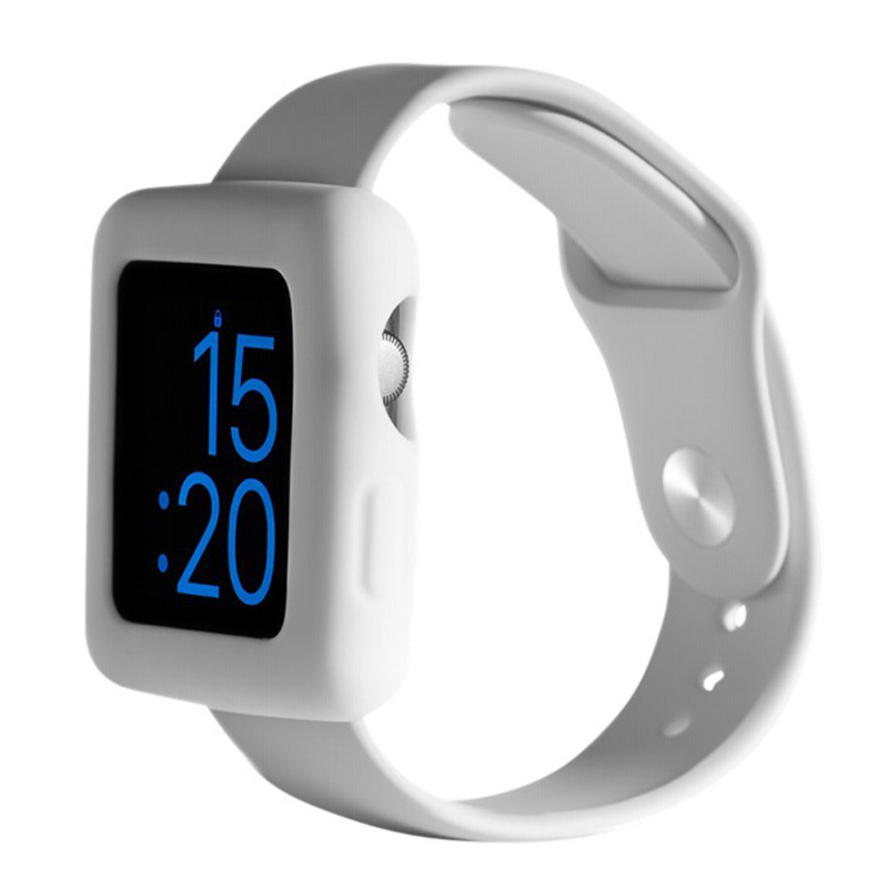 Boompods Boomtime Silicon Cover for Apple Watch 42mm white