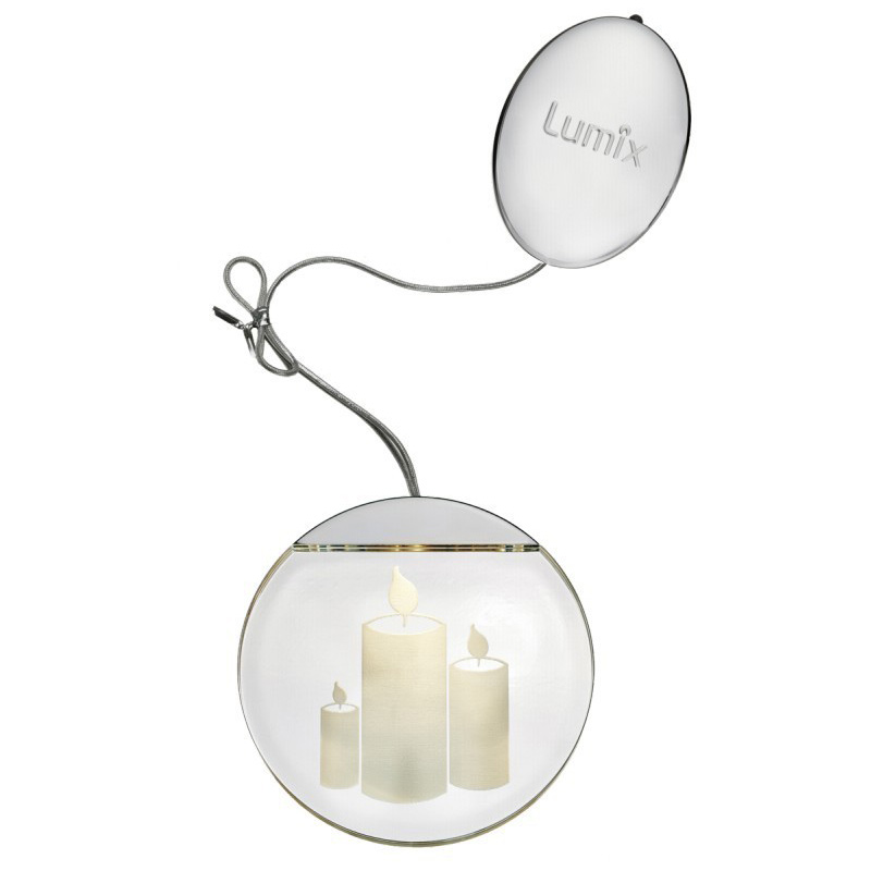 Krinner Deco Highlights silver 10cm LED Light Element  Candles