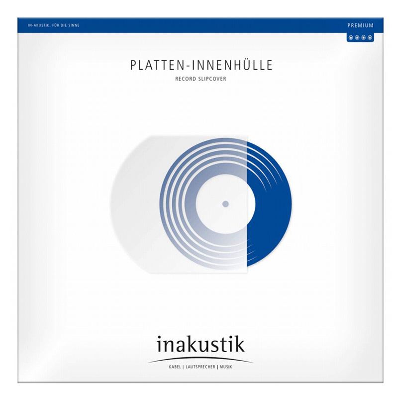 1x 50 in-akustik Premium LP Sleeves 12   antistatic