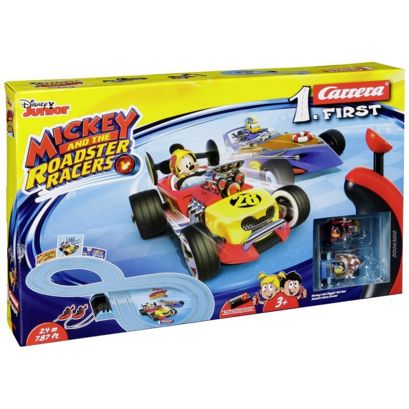 Carrera FIRST              63012 Mickey Roadster Racers     2,4 m