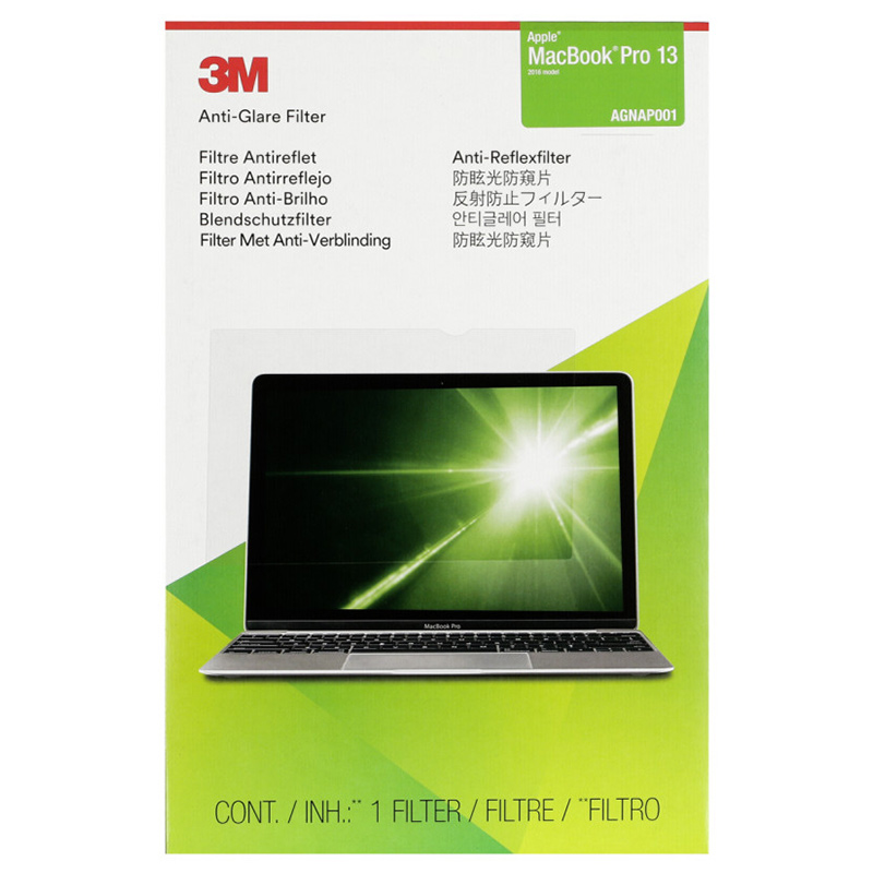 3M AGNAP001 Anti-Glare Filter for MacBook Pro 13  2016