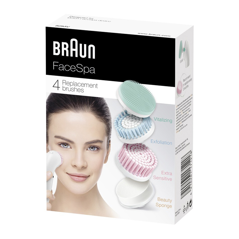 Braun Face Mix SE80mv 4 pcs.