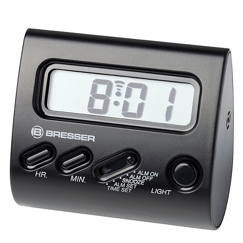 Bresser Alarm Clock YO-YO LCD-Display black