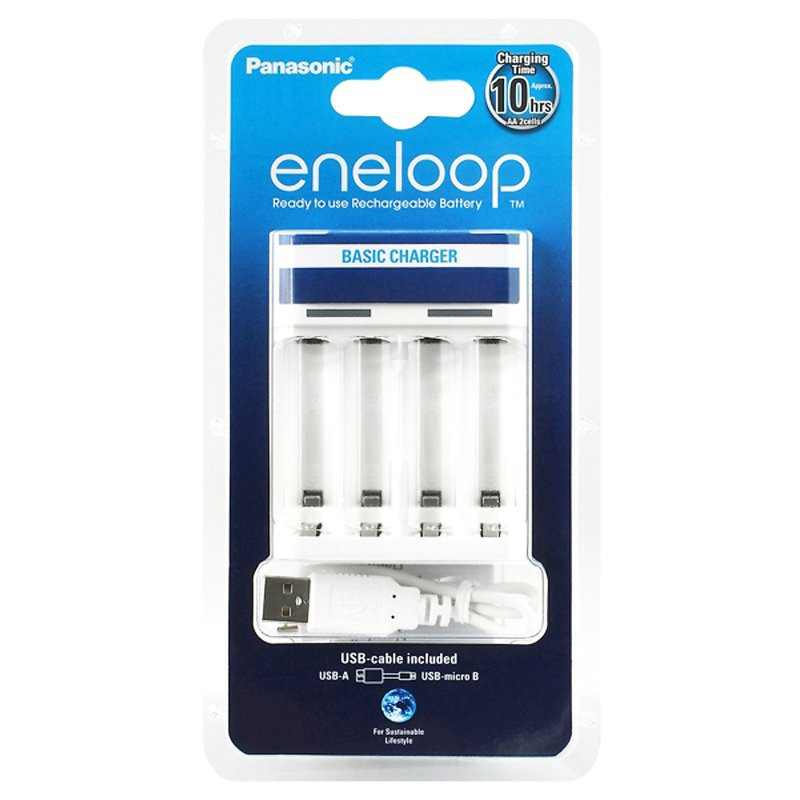 Panasonic Eneloop USB Charger without Accus