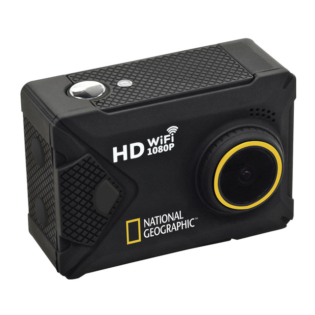 National Geographic Full-HD Action Camera WLAN 140°