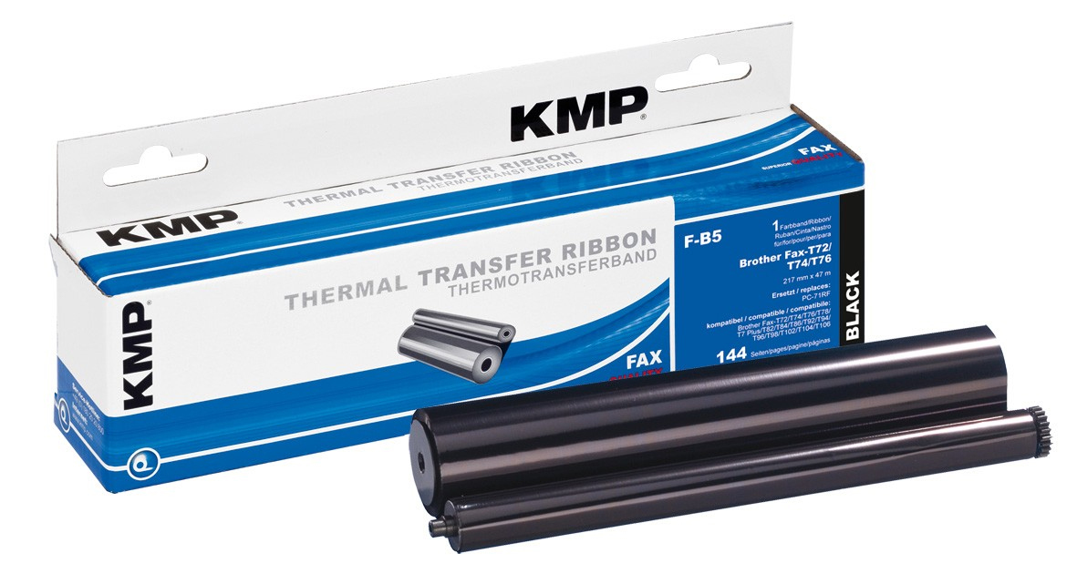 KMP F-B5 compatible with Brother PC-71RF