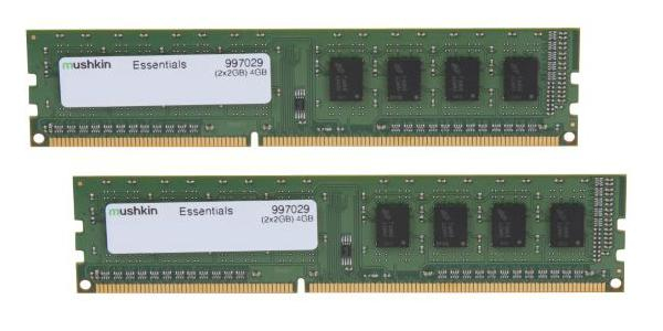Mushkin Essentials DIMM 4 GB DDR3-1600 Kit