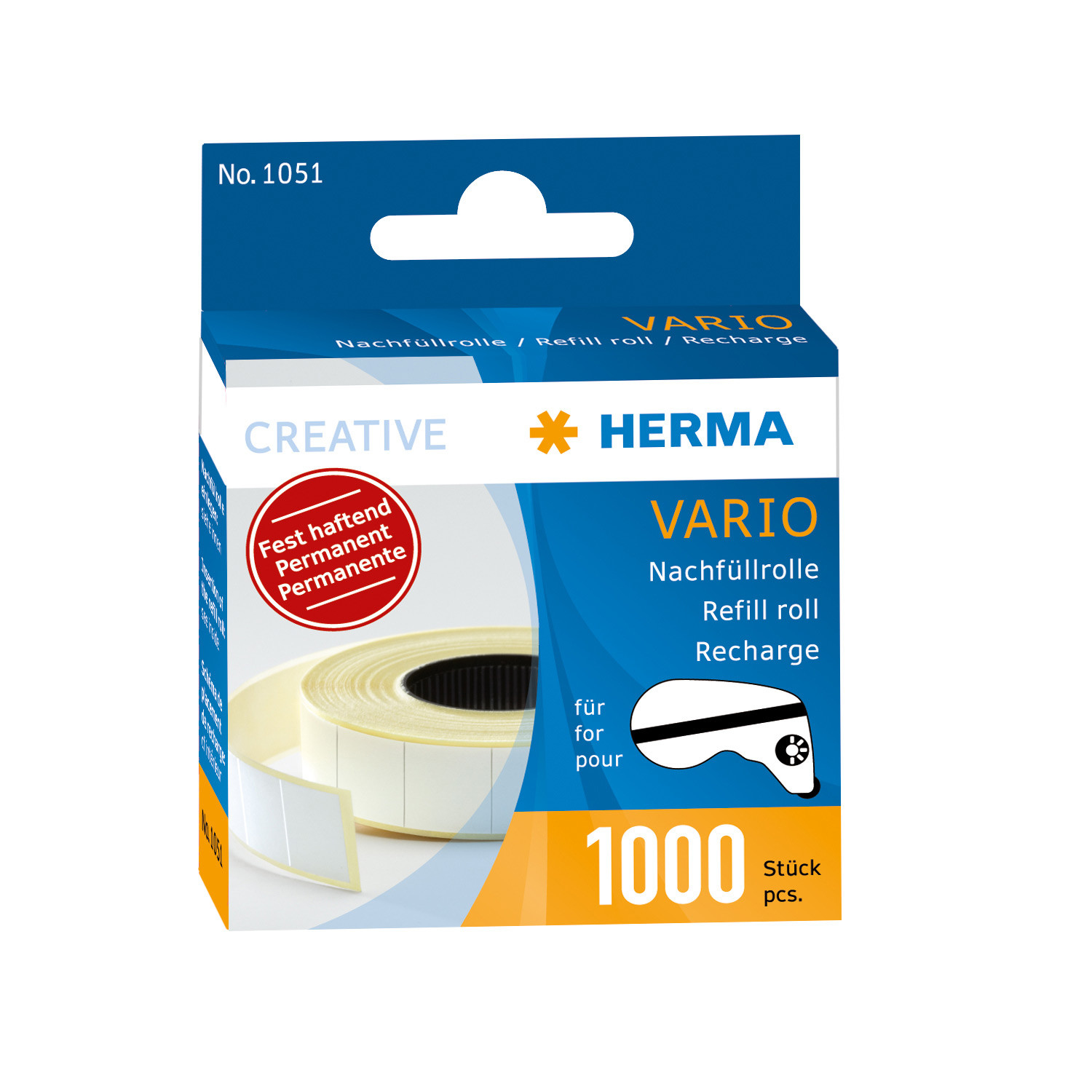 Herma Hermafix Refill Pack for Vario Glue Dispenser        1051