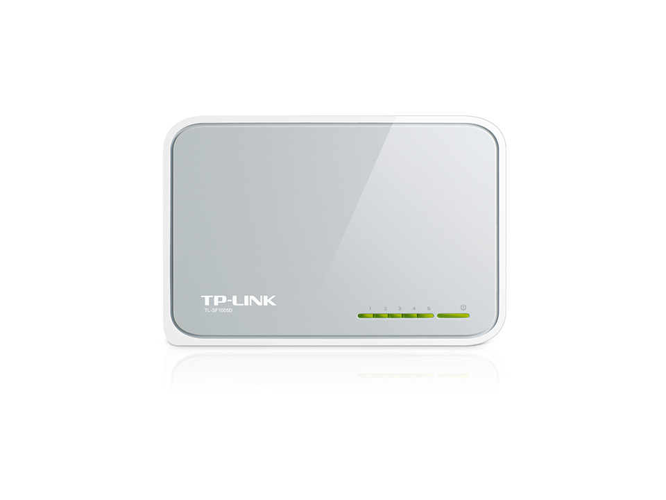 TP-LINK TL-SF 1005 D 5-port 10/100 Desktop Switch