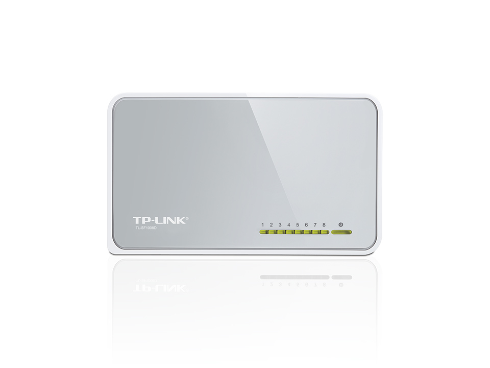 TP-LINK TL-SF 1008 D 8-port 10/100 Desktop Switch