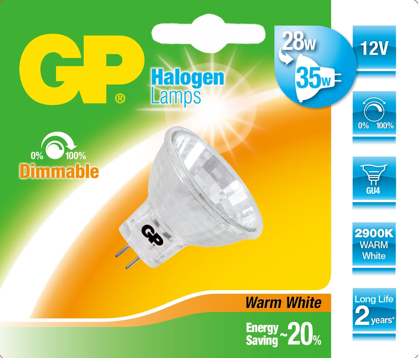 GP Lighting Halogen Reflector GU4 35W (50W) 430 lm 12V