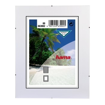 Hama Clip-Fix NG         10,5x15 Frameless Picture Holder   63002