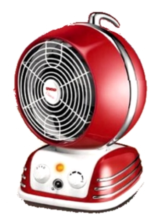 Unold 86203 Heater Classic Red