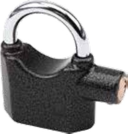 Olympia Pad Lock with Siren S 100