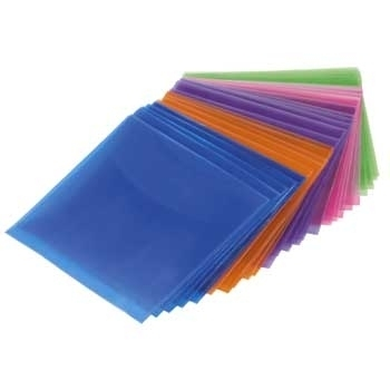 1x50 Hama CD/DVD           51067 Protective Sleeves coloured