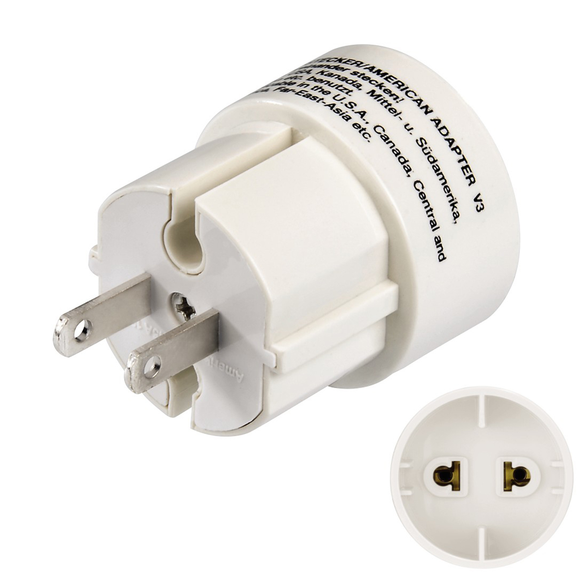 Hama Travel Adapter Plug for America