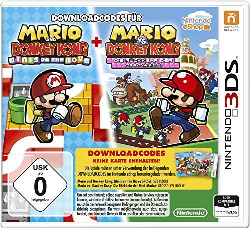 Nintendo 3DS Mario & Donkey Kong Move & March
