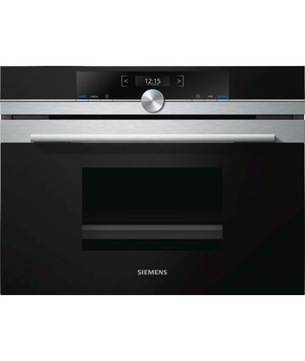 Siemens CD634GBS1 iQ700 black silver