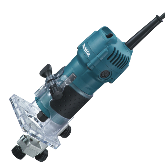 Makita 3709 1/4  Fixed Base Laminate Trimmer