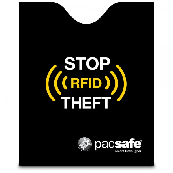 Pacsafe RFIDsleeve 50 Passport Protector Black