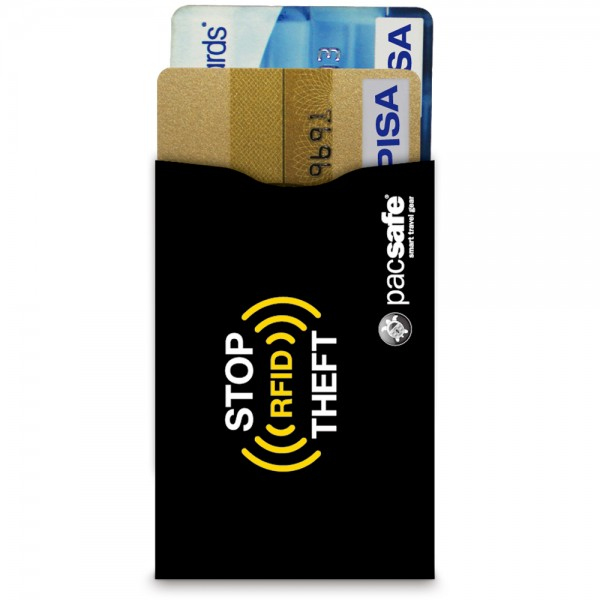 Pacsafe RFIDsleeve 25 RFID-blocking credit card sleeve