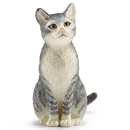 Schleich Farm Life Cat, sitting
