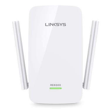 Linksys RE6300EU AC750 Dual-Band Wifi Range Extender    RE6300-EU