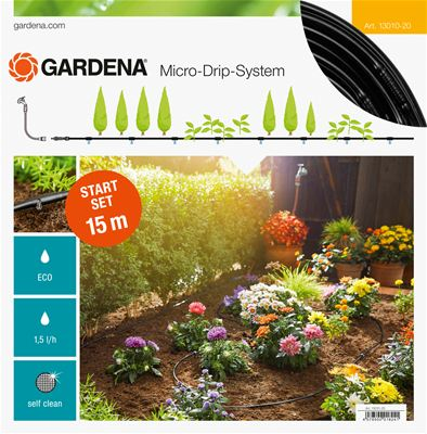 Gardena Micro-Drip Start Set Row of Plants S