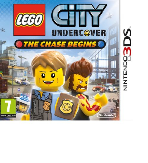 Nintendo 3DS City Undercover: The Chase Begins Selects