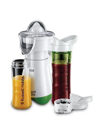 Russell Hobbs Explore Smoothie Maker Mix & Go Juice 21352-56 green white