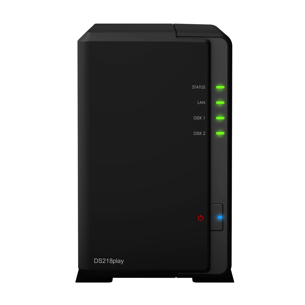 Synology DS218play black
