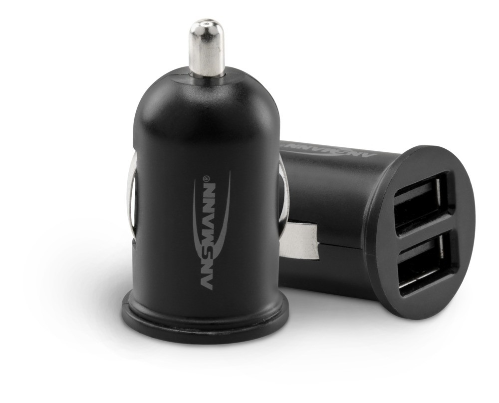 Ansmann In-Car Charger 224 2xUSB 2400mA