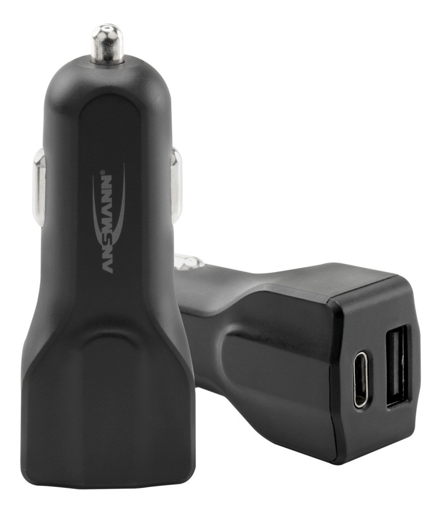 Ansmann In-Car Charger 240C 1xUSB 1xUSB Typ-C 4000mA