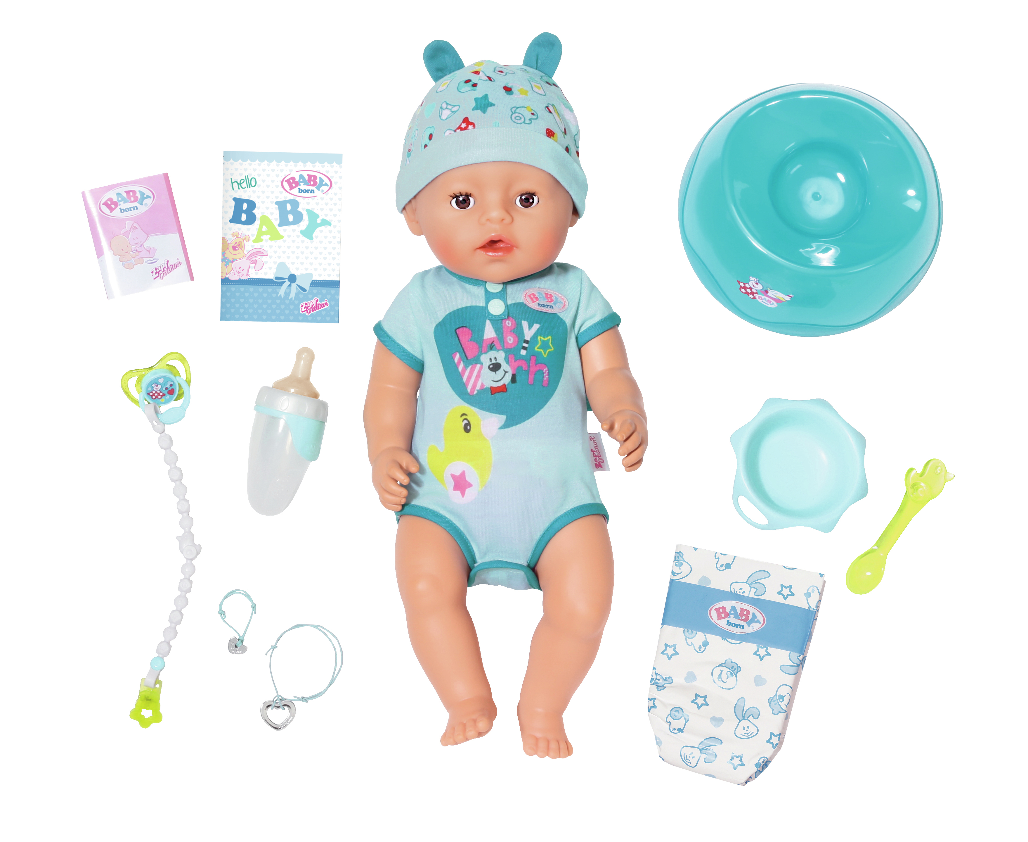 Zapf BABY born Soft Touch Boy