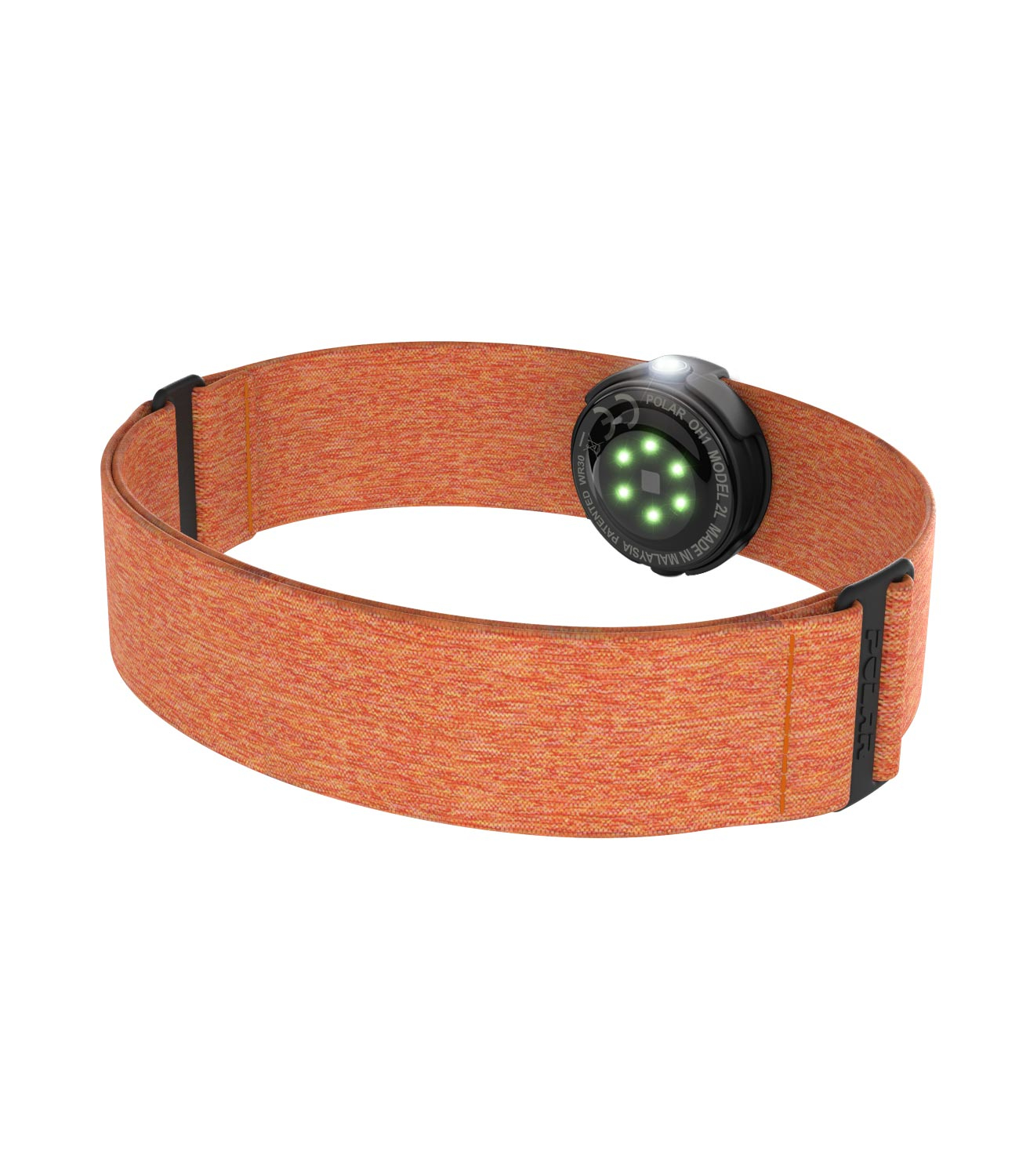 Polar OH1 optic pulse sensor orange