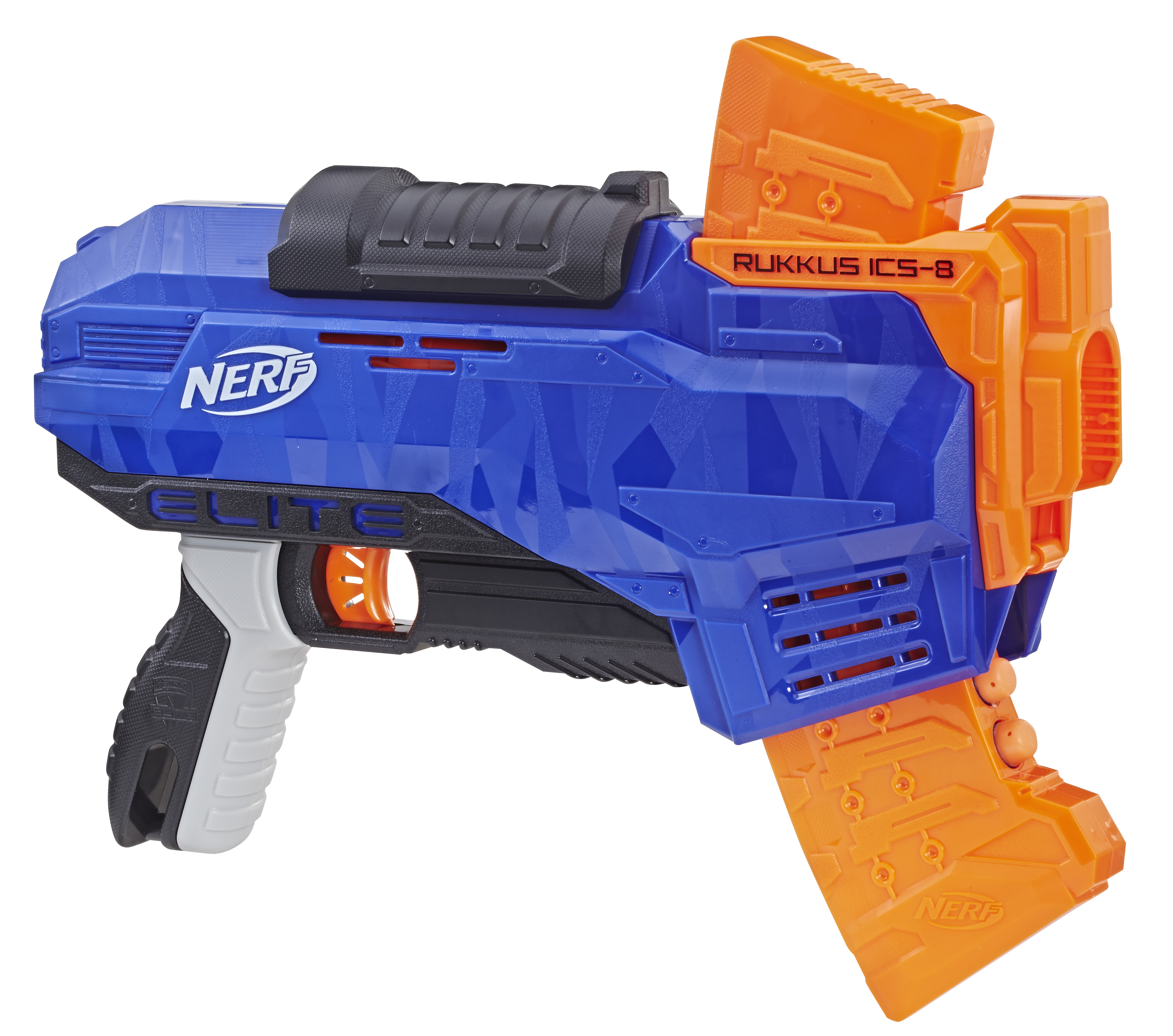 Hasbro Nerf N-Strike Elite Rukkus ICS-8 blue orange
