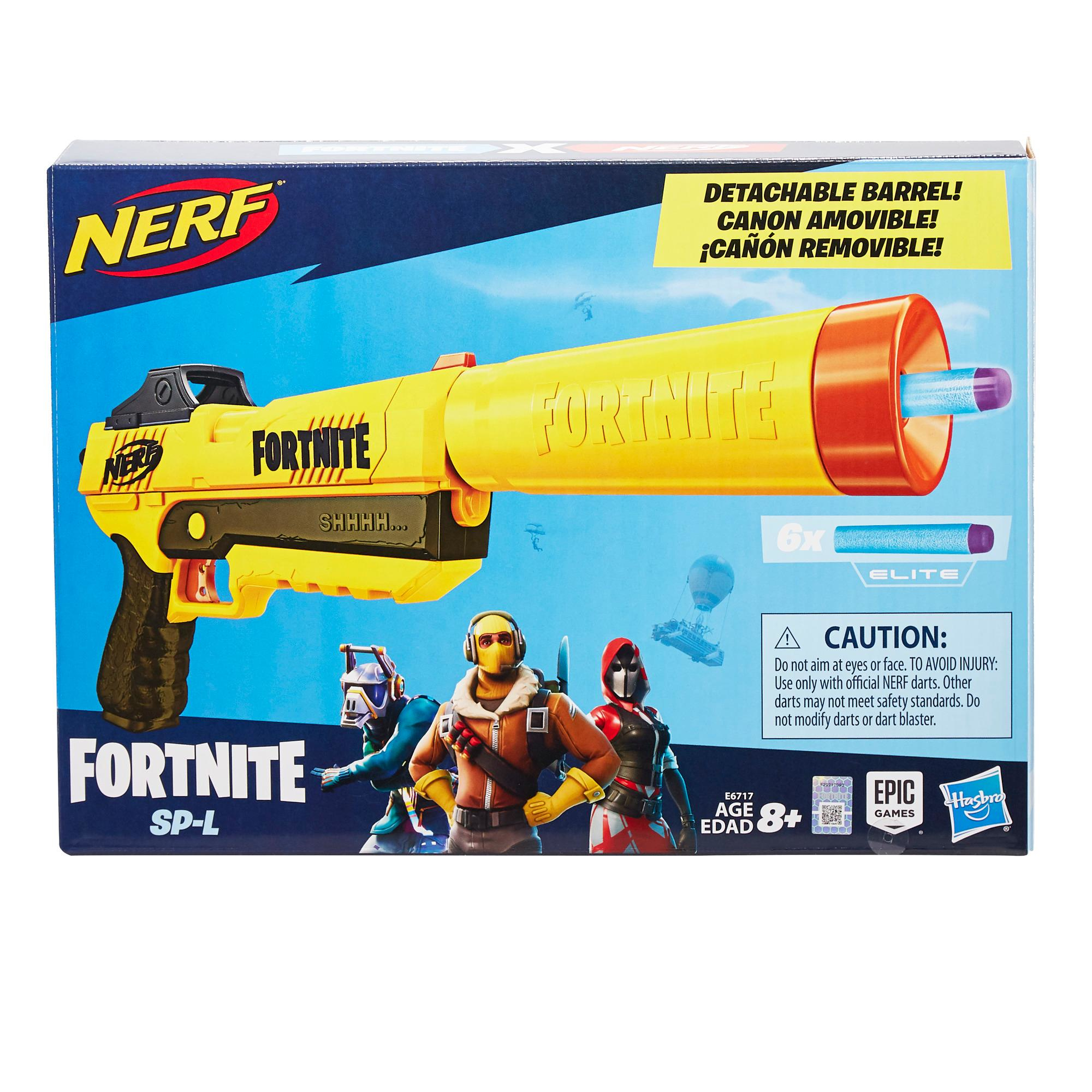 Hasbro Nerf Fortnite SP-L yellow brown