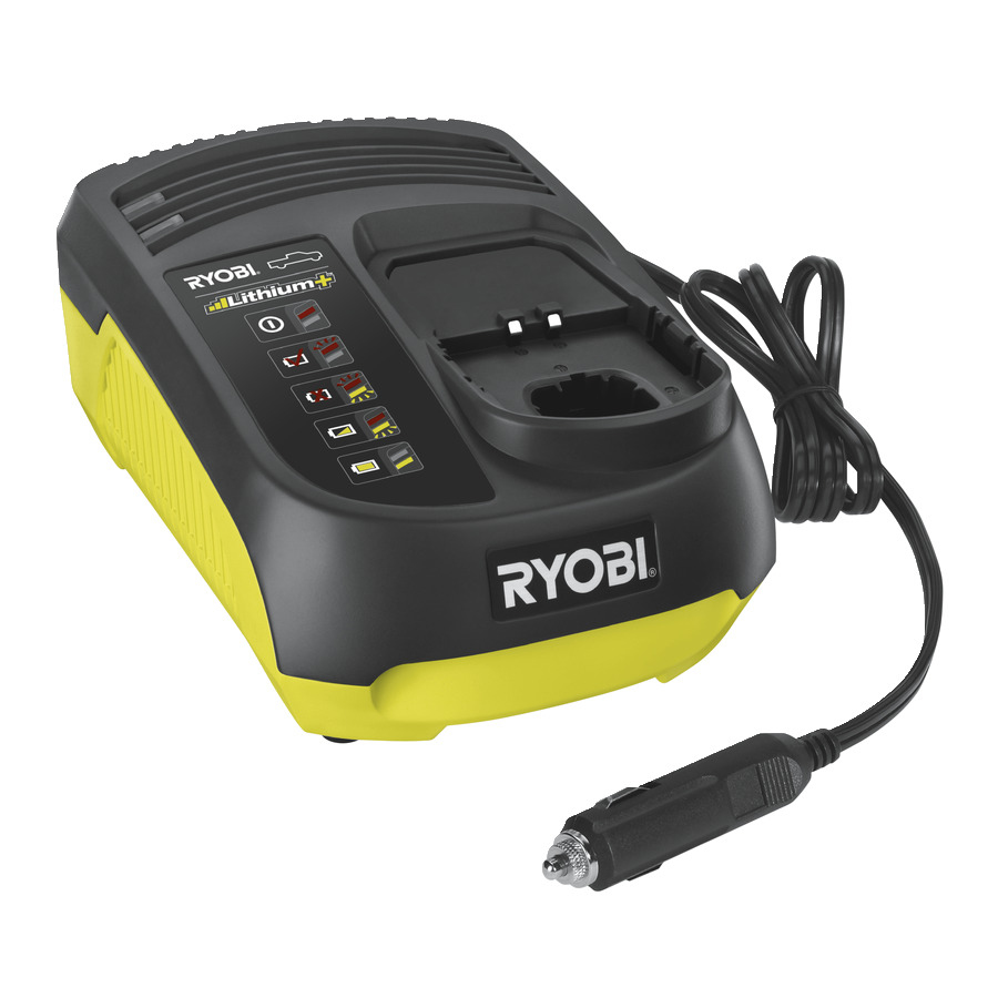 Ryobi RC18118C Car Charger for 18 V ONE+ batteries
