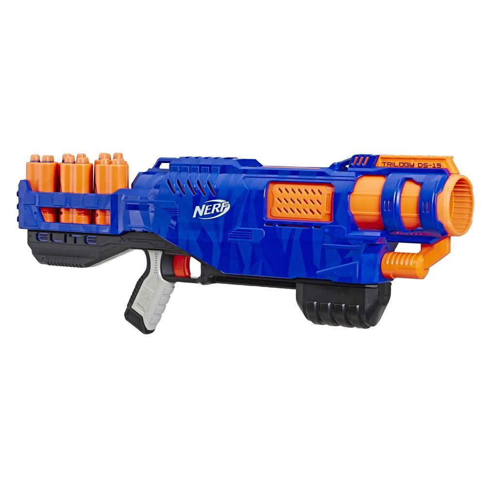 Hasbro Nerf N-Strike Elite Trilogy DS-15 blue orange